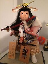 Japanese antique Samurai Doll
