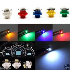 1X B8.4D 5050 1-SMD Dash Auto Side Dash Gauge Instrument LED Lights Bulb 5 Color