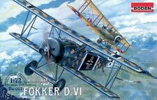 Fokker D.VI     German Biplane  world war 1                         1/72 Roden