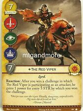 A game of thrones 2.0 LCG - 1x the red Viper #109 - Base Set-Second Edition