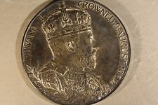 1902 Great Britain Coronation Medal Edward VII King     ** FREE U.S. SHIPPING **
