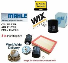LAND ROVER FREELANDER 2.0 TD TD4 9/2000->NEW OIL AIR FUEL (3) FILTER SERVICE KIT