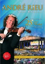 Happy Birthday! 25 Years Of The Johann Strauss Orchestra - Andre Rieu DVD Sealed