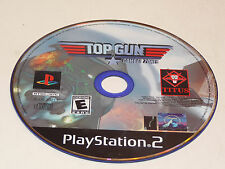Top Gun Combat Zones PlayStation 2 PS2 Game Disc Only!