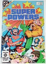 Super Powers #4 from Oct 1984 F/VF to VF