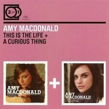 AMY MACDONALD - 2 FOR 1: THIS IS THE LIFE/A CURIOUS THING 2 CD NEW+