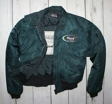 SCHOTT NYC CWU-R Bomber Flight Jacket WEST IN SPACE MAN SIZE L