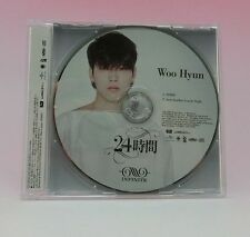 INFINITE 24 Hours WooHyun Ver First Limited Edition CD Japan