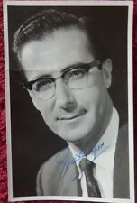 SHAW TAYLOR TV PRESENTER AUTOGRAPHED PHOTO