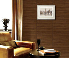 Dark Wood Optic Panelling Timber Plank Wood Textured Wallpaper KZ0907
