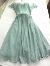 BNWT MONSOON DRESS PARTY WEDDING  1950s STYLE 20 SHEER LACE NECKLINE