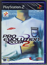 PS2 Pro Evolution Soccer 2 (2002), UK Pal, Brand New & Sony Factory Sealed