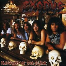 Pleasures of the Flesh by Exodus (CD, Jun-2010, Other)