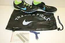 WOW Nice Nike Rival MD Men's Size 9 Track & Field Complete Shoes w/ Bag & Tools