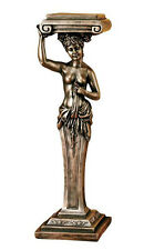 French Caryatid Sculpture Pedestal 36""