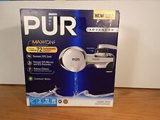 PUR PFM400H Chrome Horizontal Faucet Mount with 1 Mineral Clear Filter