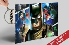 LEGO MOVIE POSTER A4 * Batman Robin Superman Joker * Super Heroes Wall Art