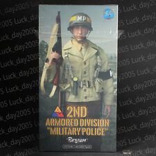 "DID WWII US 2nd Armored Division Military Police ""Bryan"" 1/6 Figure"