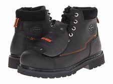 Men's Harley-Davidson Jake Black Leather Motorcycle Boot Size 11.5 MSRP 190$