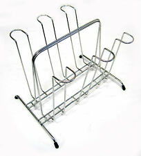 New Stainless 6 Mug Cups Rack Cup Stand Tea Coffee Cup Holder Kitchen Rack