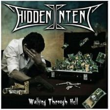 HIDDEN INTENT - Walking Through Hell (NEW*AUS THRASH METAL*PRIVATE*MORTAL SIN)