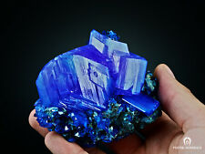 ~XXL~ WOW! TOP ! Electric Blue CHALCANTHITE on Matrix from POLAND