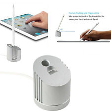 2 in1 USB Charger Charging Dock Cradle Stand Holder For Apple Pencil iPhone iPad