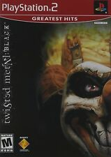 Twisted Metal Black (Sony Playstation 2, PS2) CIB Complete Perfect