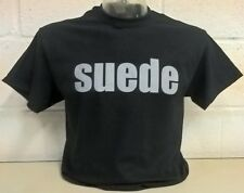 Suede Negro T-Shirt
