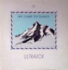 """Ultravox We Came To Dance  Extended  Uk 12"""""""