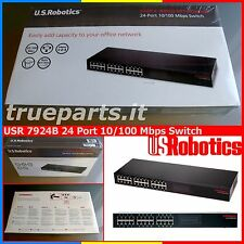 U.S. ROBOTICS 7924B★ETHERNET 10100 Mbps SWITCH 24 PORTE  AUTO MDIMDIX RACK19