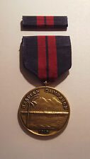 1915 U.S. Marine Corps. First Haitian Campaign Medal with RIBBON