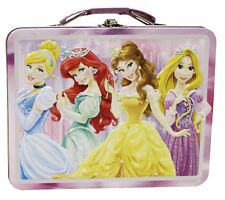 Disney Princess Metal Tin Lunch Box Beauties NEW Toys Kids Carrier Belle