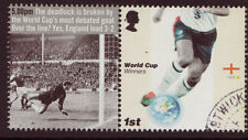 GREAT BRITAIN 2006 WORLD CUP IN GERMANY FINE USED CARTOR PRINTING