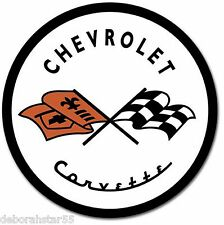 Chevrolet Corvette 53 Chevy Logo Garage Retro Metal Tin Sign 30x30cm 1797 New