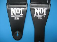 LEVY's LEATHERS No.1 Stretch Guitar Strap MN01-BLK quality BUCKETHEAD endorsed