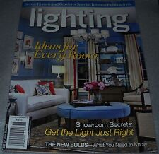 BH&G Lighting 2011 Ideas for Every Room Showroom Secrets Get Light Just Right