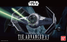 Bandai 1/72 Scale Model Kit Star Wars Darth Vader's Tie Advanced X1 StarFighter