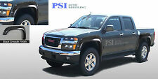 2004 - 2012 Chevy Colorado POCKET-N-BOLT RIVET Style Fender Flares PAINTABLE Fsh