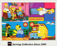Australia (Tempo) The Simpsons Downunder Trading Cards Promotion Card Set (4)