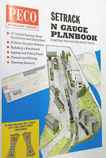 Peco N Setrack Planbook -  N GAUGE (Model Railways)