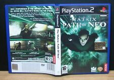 THE MATRIX PATH OF NEO - PS2 - PlayStation 2 - PAL - Italiano - Usato