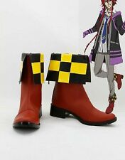 Kamigami no Asobi Thor Brother Loki Laevatein Cosplay Boots Boot Shoes Shoe UK