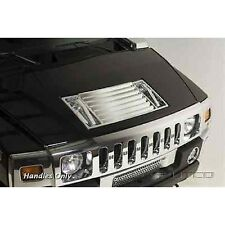 Putco 401047 Chrome Hood Deck Vent Handles for 03-09 Hummer H2