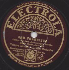 Tommy Dorsey  Orchestra 30er Jahre deutsche Electrola : San Francisco