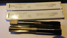 5 NEW IN PKG: OSG TAPS M 10 X 1 MACHINIST TOOLING 4 flute Japan (c-48)
