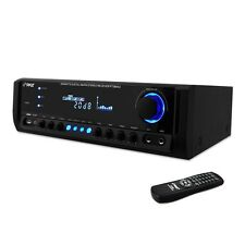 200W DJ PROFESSIONAL HOME AUDIO DIGITAL STEREO 4 CHANNEL POWER AMP AMPLIFIER FM