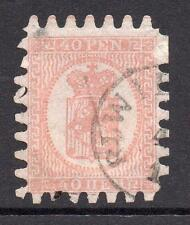 Finland 40 Pen Stamp c1866 Used (small thin)