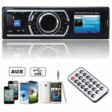 Car Vehicle Audio Stereo In-Dash MP3 Player Radio FM USB SD AUX input Receiver