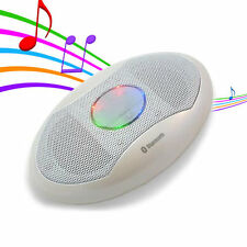 Colour LED Bluetooth Wireless Stereo Altoparlante con tasca per iPad iPhone Android